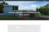 3 Homes for holiday