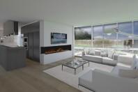 Nuova villa moderna in Piemonte