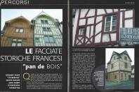 """LE FACCIATE STORICHE FRANCESI """"PAN DE BOIS"""""""