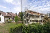 Ristrutturazione con ampliamento di villa unifamiliare
